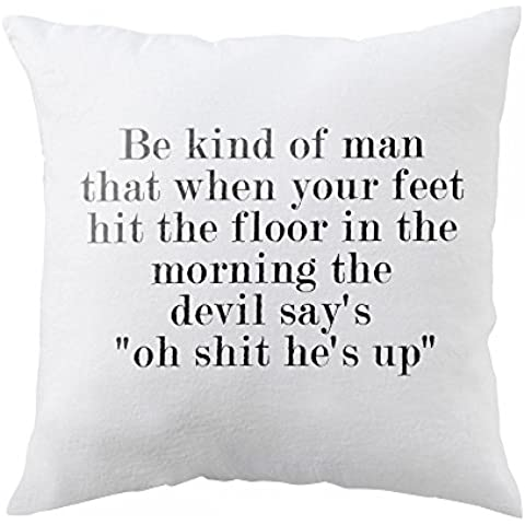 Pillow with Quote for respect in life.