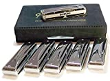 Suzuki SU-MR-350S Set de 6 harmonicas 10 trous / 20 tons