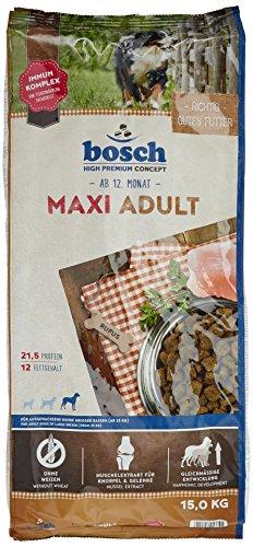 bosch Hundefutter Maxi Adult, 1er Pack (1 x 15 kg)