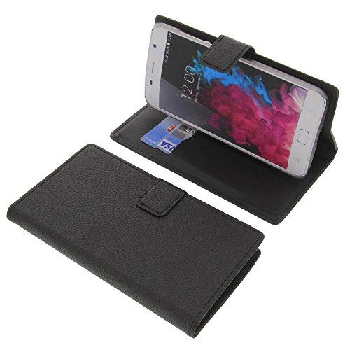 foto-kontor Tasche für UMI Touch 2016 Book Style schwarz Kreditkarte Schutz Hülle Buch
