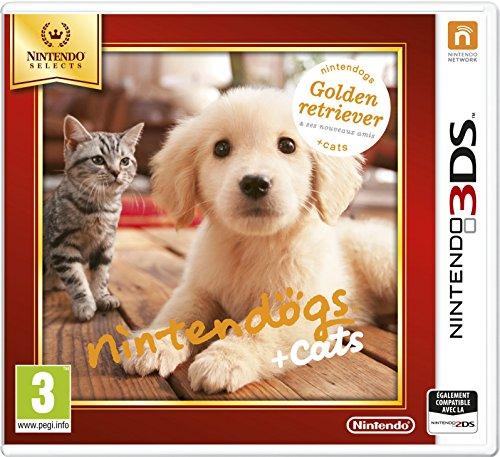 Nintendo Nintendogs + Cats: Golden Retriever, 3DS
