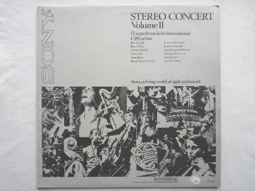 Stereo Concert Vol II LP CBS Special Products LSP13001 EX/EX 1973 with John Barry & Blood Sweat & Tears
