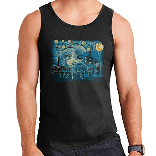 Starry Night At Scarif Rogue One Men's Vest Black