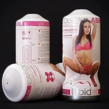 Vagina Real Actriz Porno Española Carolina Abril Reutilizable. Masturbador Sexual Hombre de Altísima Calidad Silicona 100%. Vagina Realista. Juguete Erótico para Hombre de Libid Toys