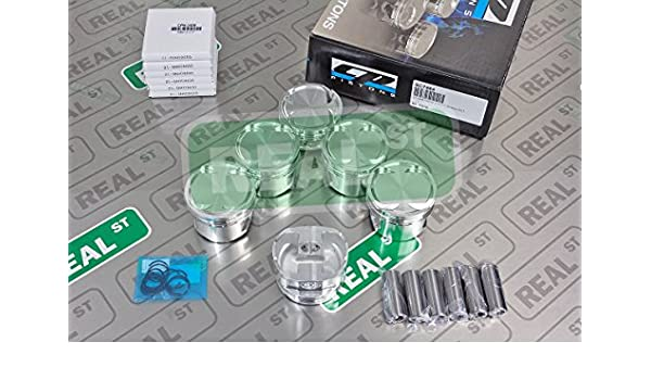 CP Pistons SC7464 Piston and Ring Set for Toyota Pack of 6