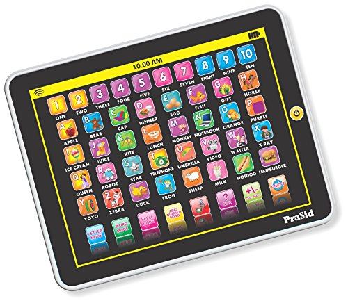Prasid 2917-8.4 My Pad Mini English Learning Tablet for Kids - Indian Voice, Black  available at amazon for Rs.279