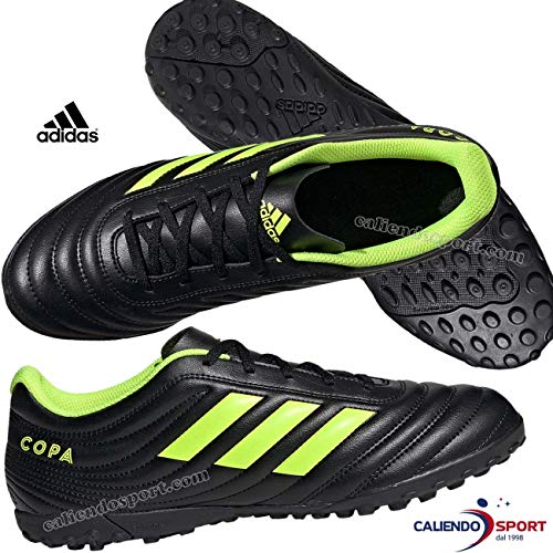 adidas Copa 19.4 TF, Herren Fußballschuhe, Mehrfarbig (Negbás/Amasol/Negbás 000), 46 EU (11 UK)