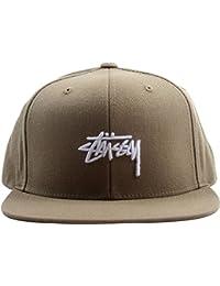 e0ad6f608f69c Amazon.co.uk  Stussy - Baseball Caps   Hats   Caps  Clothing