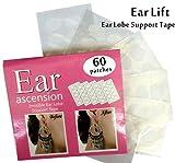 Oreille stütz bande Stickers correctifs–Invisible Ear Lift–Parfaite pour überdehnte trous et Blessés l'oreille Lot de 60