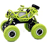 Babytintin™Rock Crawler 1:18 Scale 4WD 2.4 Ghz 4x4 Rally Car RC Dirt Drift Waterproof Remote Controlled Monster Truck (Random Color)