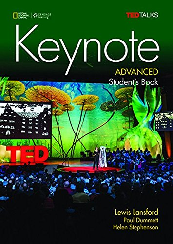 Keynote Advanced: Student's Book with DVD-ROM and MyELT Online Workbook, Printed Access Code por Paul Dummett