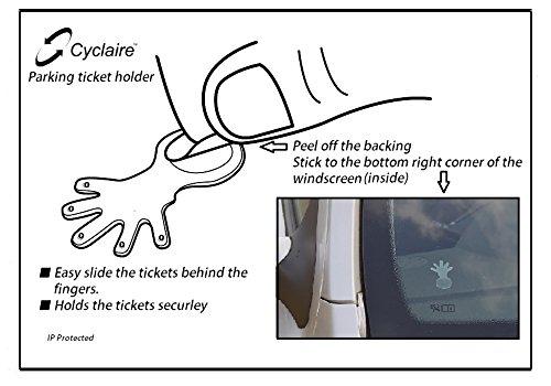 Preisvergleich Produktbild Auto Windschutzscheibe Ticket Halter, 2Stück Ticket Hand, und effektiver Weg, um Sicher Display Tickets und Parken ermöglicht, ohne Klebstoff auf das Glas