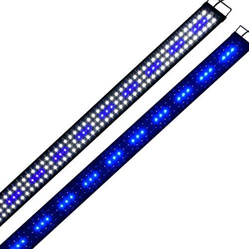 Lumiereholic Aquarium Beleuchtung LED Fische Tank Beleuchtung Aufsetzleuchte Lampe 30-200cm (150CM)