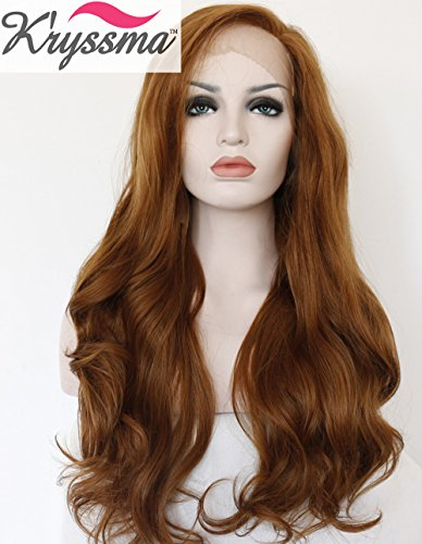 kryssma-natural-looking-brown-wavy-long-synthetic-hair-best-lace-front-wigs-for-women-half-hand-tied