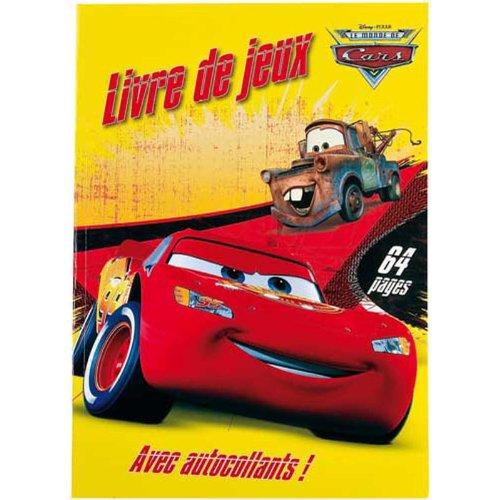Cars - Libro de actividades infantiles (versión en francés)