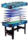 Pl Ociotrends–Table multi-jeux 7en 1, 120x 61x 82cm