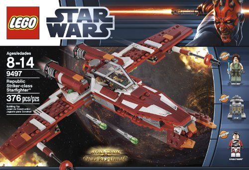 LEGO Star Wars 9497 Republic Striker-Class