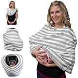 Best Pure Baby Carriers - Pure Mom Breastfeeding Cover & Nursing Scarf-Stretchy Covers Review
