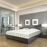 DAGOSTINO HOME BOUTIQUE HOTEL ATHENEA 90x200x25 cm. Tonnentaschenfederkern & Viskoelastische (Memory Foam) - 7- Zonen H3&H4, Komfort und Design des 5 Sterne Hotels,für die Befriedigung aller Arten von Menschen.