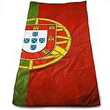 Bikofhd Portugal Flag.jpg Microfiber Lightweight Soft Fast Drying for Gym Beach Travel Fitness Exercise Yoga