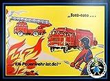 Spika GmbH 190063'Die Feurwehr ist da Spielzeug, Mehrfarbig