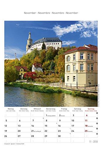 Thüringen 2018 - Bildkalender (24 x 34) - Landschaftskalender - 13