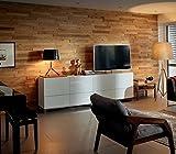 HARO Interior Wall Designholz Wandverkleidung - Nevada Eiche River - Das einfachste und schnellste System für die Wandverkleidung ohne Bohren, Nageln, Schrauben - Paket a 1,86m²