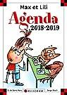 Agenda Max et Lili 2018-2019 par Saint-Mars