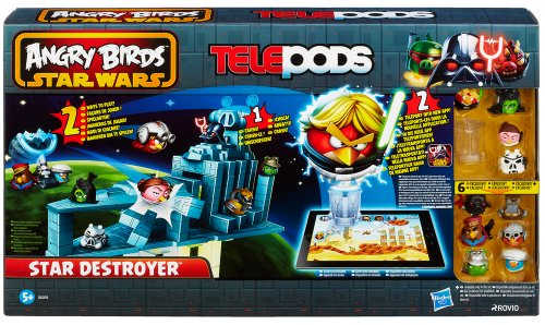 Hasbro A6056E27 - Angry Birds Star Wars Telepods Star Destroyer Battle (Wars Star Vader Schiff Darth)