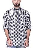 Prapti men's cotton short kurta