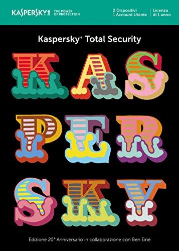 KASPERSKY - TOTAL SECURITY MULTI-DEVICE 2018 2 DISPOSITIVI 1 ANNO