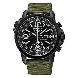 Seiko Solar Gents Chronograph Watch de Seiko