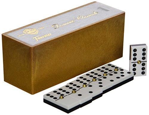 Fournier - Dominó Chamelo marfilina, caja de plástico (F06562)