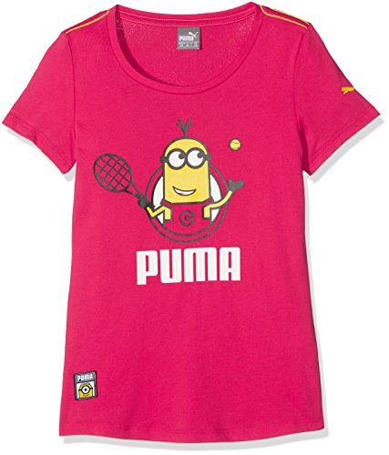 PUMA Kinder Minions Tee T-Shirt, Love Potion, 152