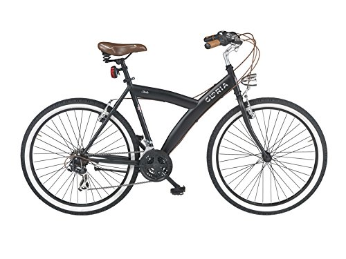 Cicli Gloria Isola city bike 26, nero matte