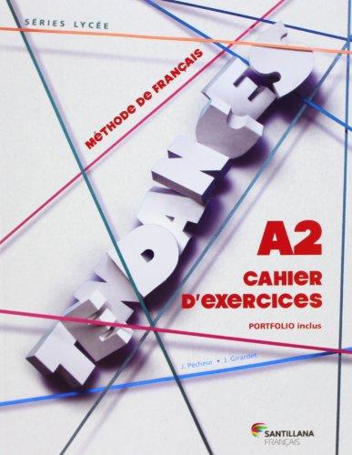 TENDANCES A2 - CAHIER D'EXERCICES - 9788492729036