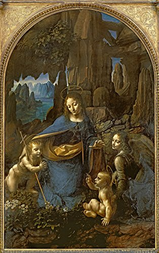 Virgin of the rocks di Leonardo da