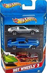 Mattel Hot Wheels (3 pack) Design may vary