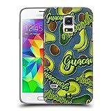 Head Case Designs Lilien Und Creme Alles Ueber Avocados Ruckseite Hülle für Samsung Galaxy S5 Mini