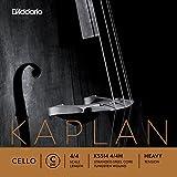 D\'Addario Bowed Corde seule (Do) pour violoncelle D\'Addario Kaplan, manche 4/4, tension Heavy