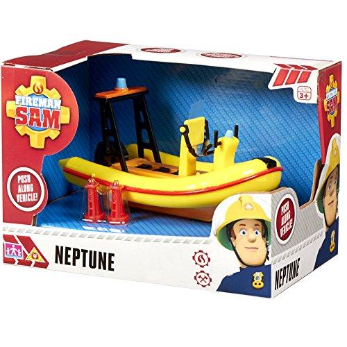Sam Le Pompier – Neptune Le Bateau de Sauvetage – Véhicule 5053750962727