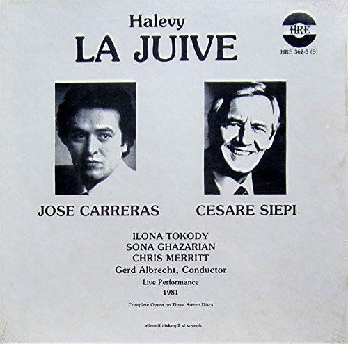 Halevy: LA JUIVE (Live Performance 1981) [Vinyl Schallplatte] [3 LP Box-Set]