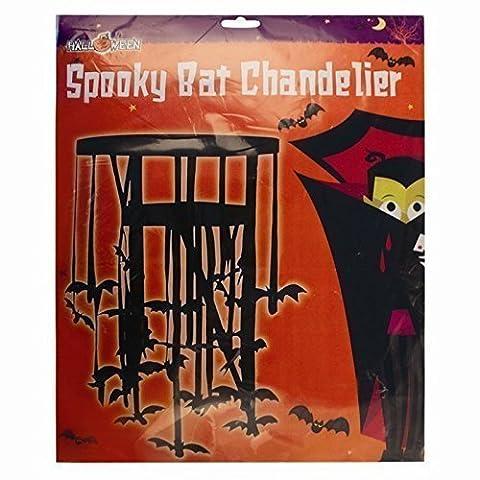 Halloween Spooky Bat Chandelier - Halloween - Hanging Bats from Ceiling/light