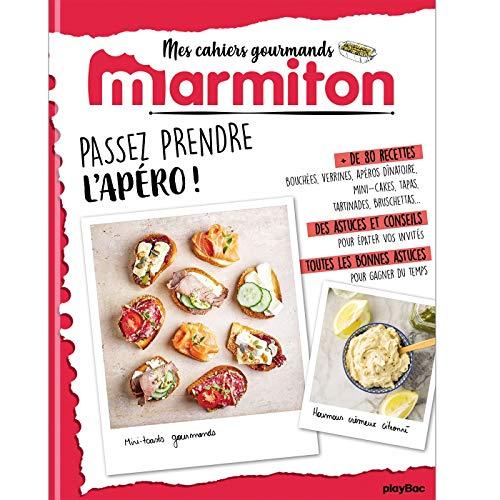 Marmiton Cahier gourmand Apéros par  (Broché - May 22, 2019)
