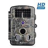 """Wildkamera, Icefox 12MP 1080P Wild Vision Full HD, 2.4"""" Zoll Bildschirm 120°Breite Vision Wildkameras für Nachtsicht"""