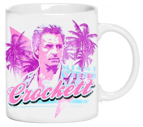 Miami Vice Crockett Mug