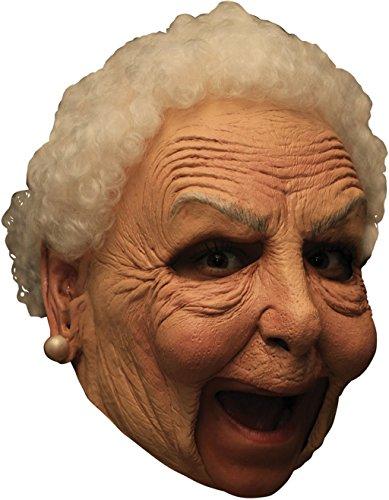 Maske - Hand Bemalt (Alte Oma Fancy Dress Kostüme)