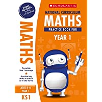 Maths practice book for ages 5-6 (Year 1). Boost success with complete national curriculum coverage (100 Practice Activities)