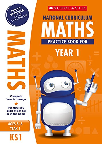 National Curriculum Maths Practice Book for Year 1 (100 Practice Activities)