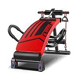 BLWX LY Hocker verstellbar, Sport-Sit-Ups, Bauchmuskeltraining, praktische Kippbank für das...